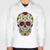 sugar skull Hoodies featuring Sugar Skull by Jade Boylan