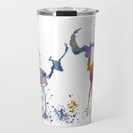 Deer Skeletons Travel Mug