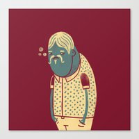drunk Canvas Prints featuring Drunk by Renato Klieger Gennari