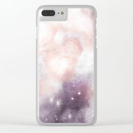 Andromeda Skies Clear iPhone Case