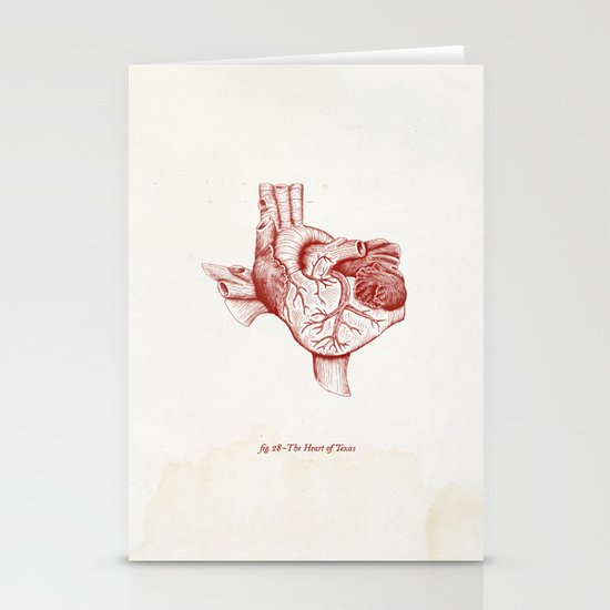 The Heart of Texas (Tech) Stationery Cards