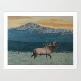 Private Land Art Print