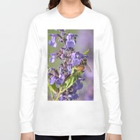 bee Long Sleeve T-shirts featuring Bee by Stecker Photographie