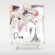 Flowers bouquet #30 Shower Curtain