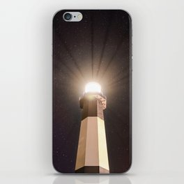 Tybee Lighthouse Under the Stars iPhone Skin