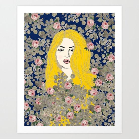 Jene #society6 #decor #buyart Art Print
