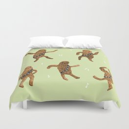 Wookie Dance Party Duvet Cover