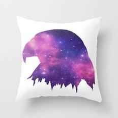 SPACE EAGLE Throw Pillow