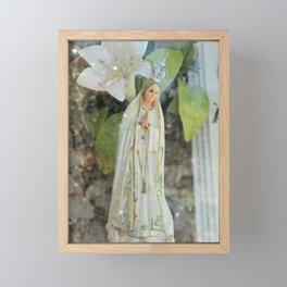 Hold the Lights Framed Mini Art Print