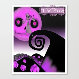 The Fool, Tarot, Tarot Card Art, The Fool Tarot Canvas Print