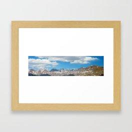 Bridger - Teton Mountains Framed Art Print