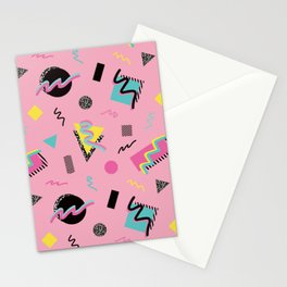 Postmodern Slumber Party Stationery Cards