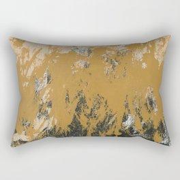 16 x 20 yellow-buff-black Rectangular Pillow