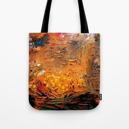 Spatial sea Tote Bag