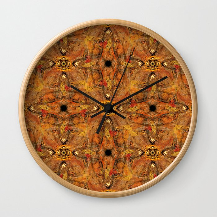 Fractal Art - Brain II Wall Clock