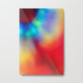 BLUR / iris Metal Print