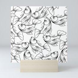 Overcrowded Mini Art Print