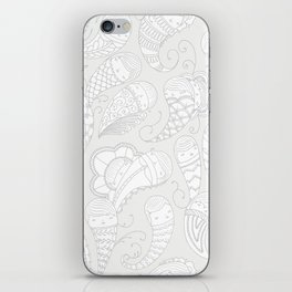 Ghostly Paisley: Dust to Dust iPhone Skin