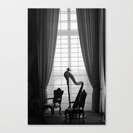 Venaria Reale Harp Canvas Print