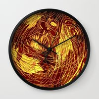 notorious Wall Clocks featuring NOTORIOUS by BlackKirby1