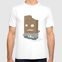 Zombie Crunch Bar Mens Fitted Tee White SMALL