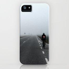 Winter training iPhone Case