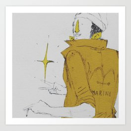 Borsalino Art Print