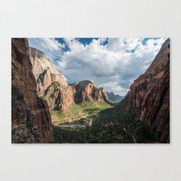Zion Canyon, Zion National Park Canvas Print