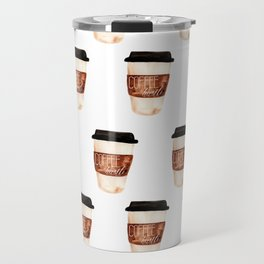 Coffee and Hustle on the Go Travel Mug