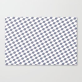 US Airforce style insignia pattern - High Quality image Canvas Print