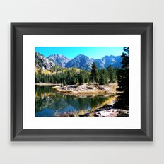A Perfect Reflection  Framed Art Print