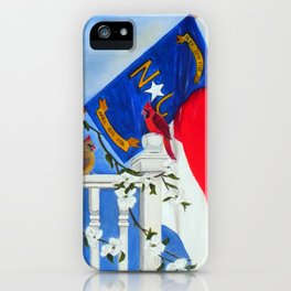 North Carolina - A State of Art iPhone Case