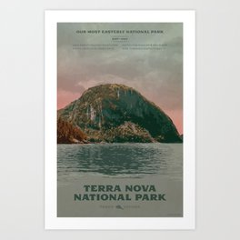 Terra Nova National Park Art Print