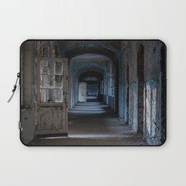 Blues, abandoned hospital Laptop Sleeve