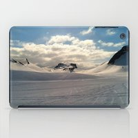 iceland iPad Cases featuring Snowcapped Iceland by tyler Guill