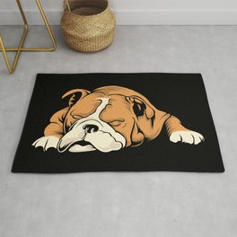 English Bulldog | Dog Lover Rug