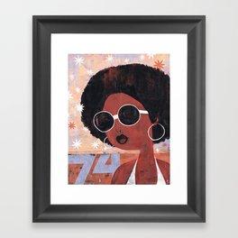 Afro 74 Framed Art Print
