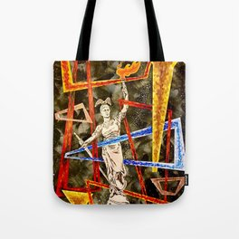 Monumental geometric Tote Bag
