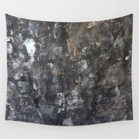 concrete Wall Tapestries featuring Concrete by Crimson-daisies