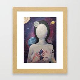 The Universe Inside You Framed Art Print