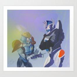 Beast Wars Art Print
