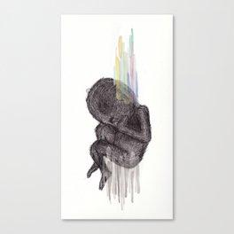 Birth. Conspire. Be. Upset. Canvas Print