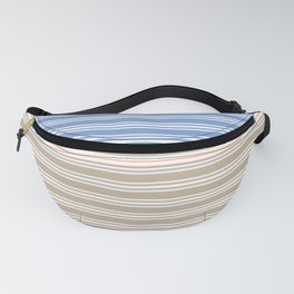 Cool Summer Stripes Fanny Pack