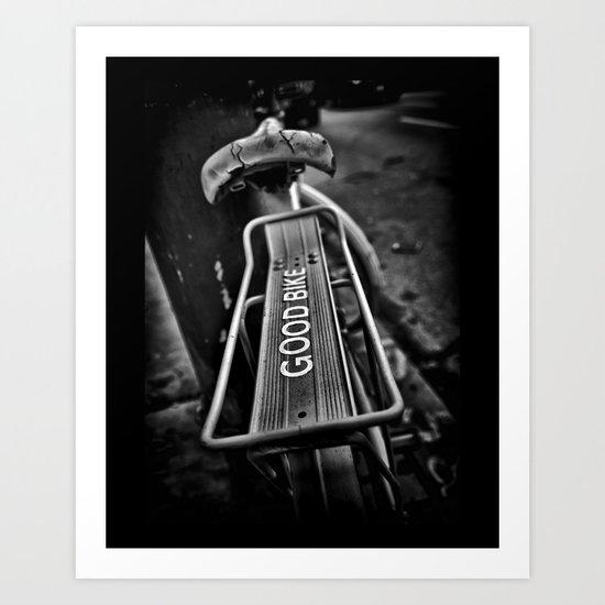 The Good Bike Art Print