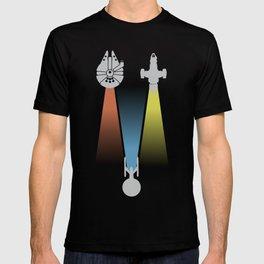 Sci-fi ships T-shirt