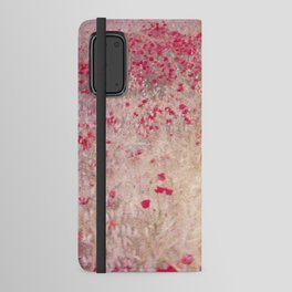 Fields of poppies Android Wallet Case