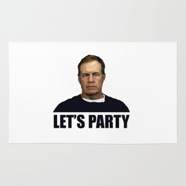 Belichick Lets Party Rug
