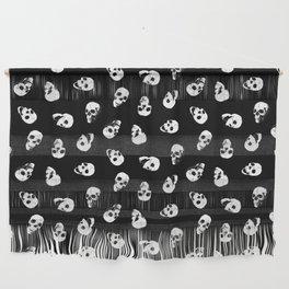 Gossiping Skulls Wall Hanging