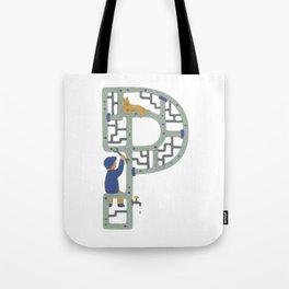 P as Plumber Tote Bag