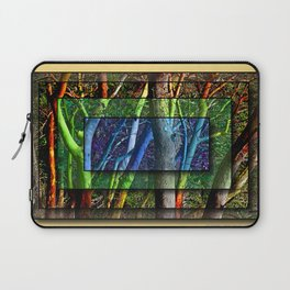 CENTERED SHUFFLE IN A MADRONA THICKET Laptop Sleeve